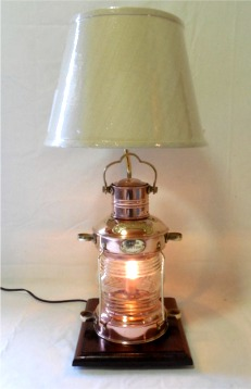 Ordinaire Anchor Lantern Table Lamp