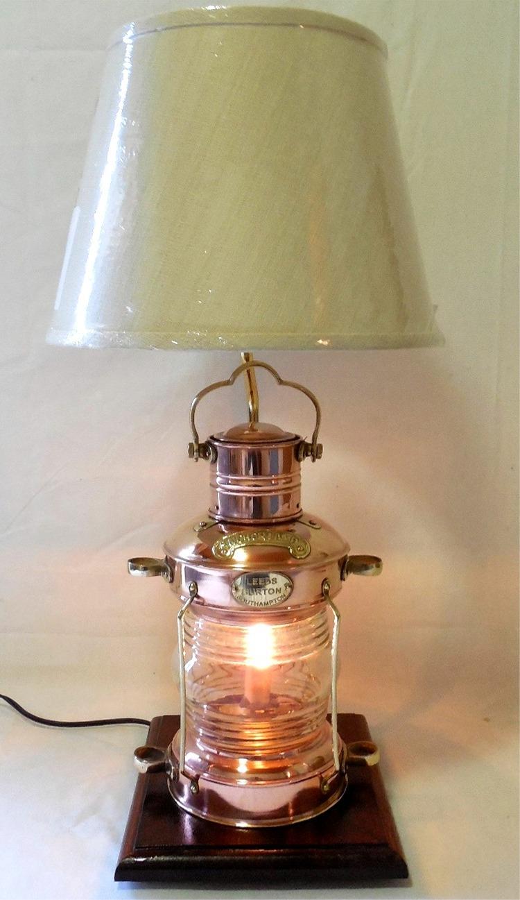 Solid Copper Anchor Lantern
