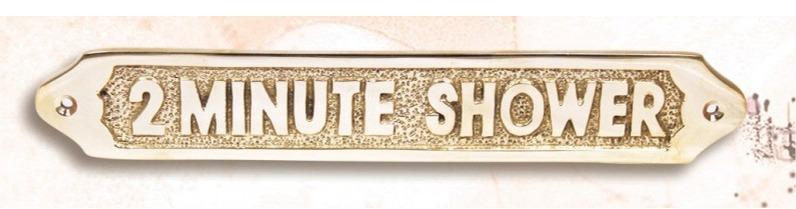 STEER GEAR ROOM – Marine BRASS Door Sign 302 12 x 1 Inches Nautical