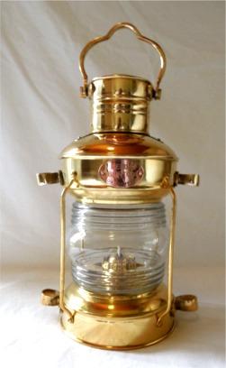 Br Ship S Anchor Lantern