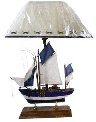 Sailboat Table Lamp : Robin s dockside shop nautical decor