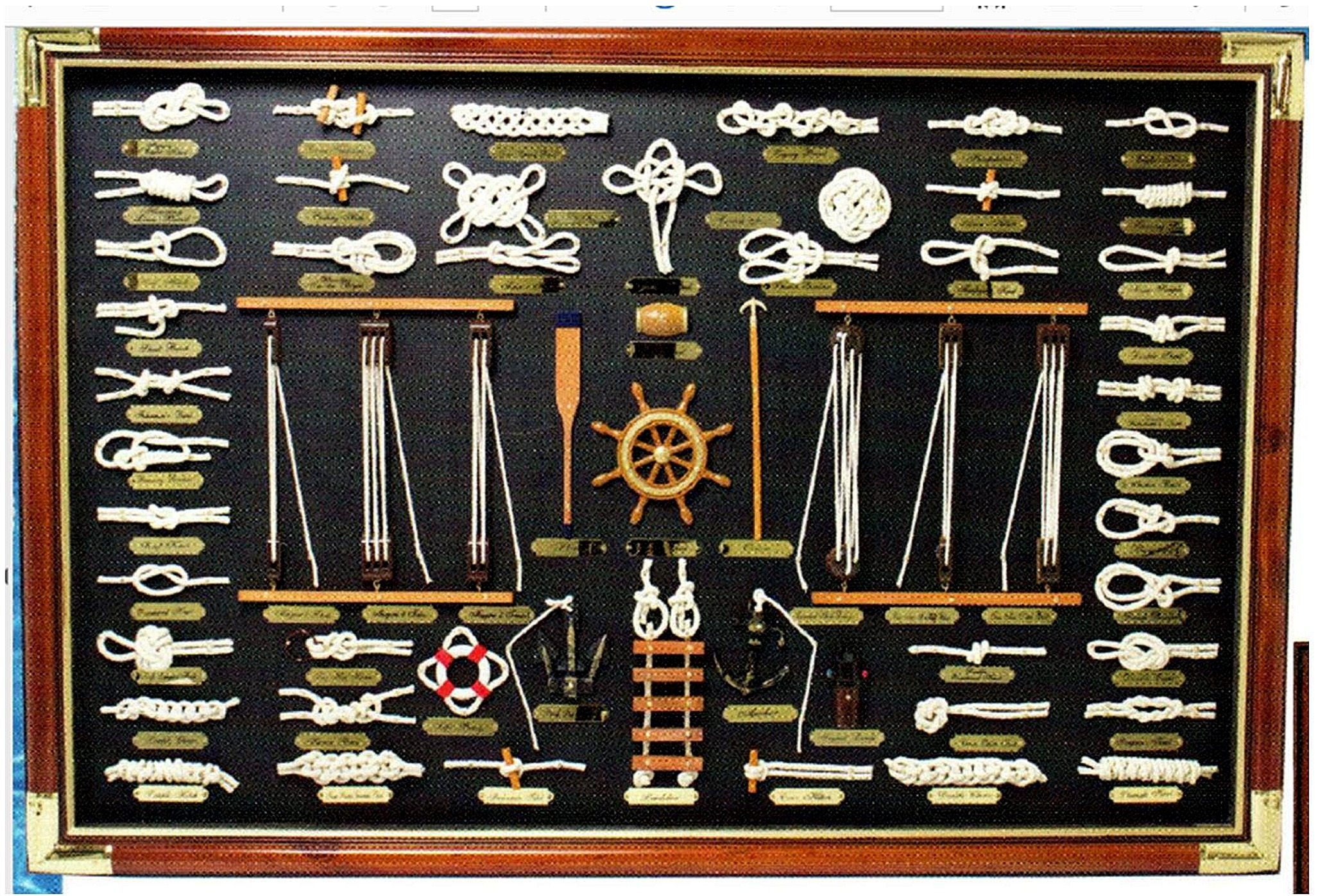 Nautical Home Decor Robin S Dockside Shop Knot Board Displays