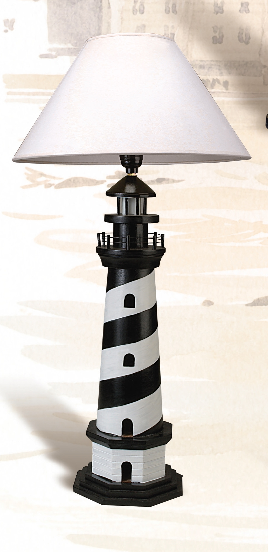 Tall Cape Hatteras Lighthouse Table Lamp. The Most Famous ...