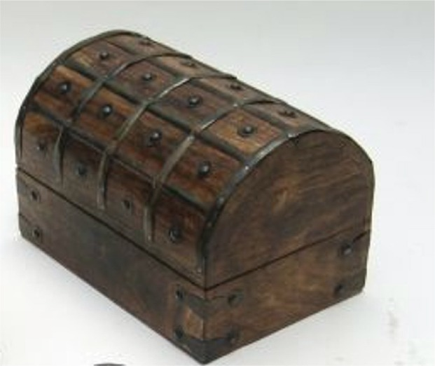 Wood Pirate Chest ~ Robin s dockside shop pirate stuff page
