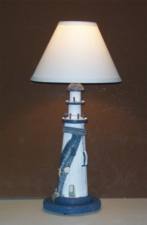 Robin S Dockside Shop Nautical Lighthouse Table Lamp