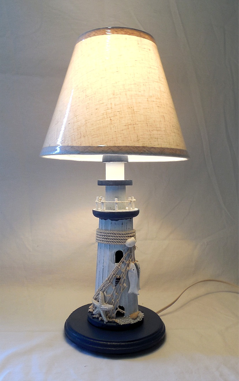 Sailboat Table Lamp : Robin s dockside shop nautical lighthouse table lamp