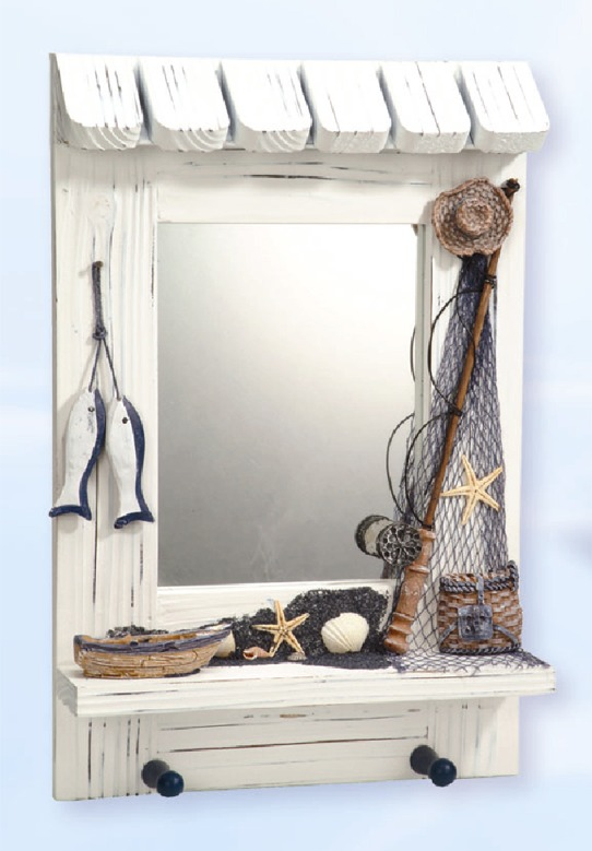 Nautical mirrors ideal bathroom nautical items beach mirrors for nautical decoration in a - Nautical decor bathroom ...